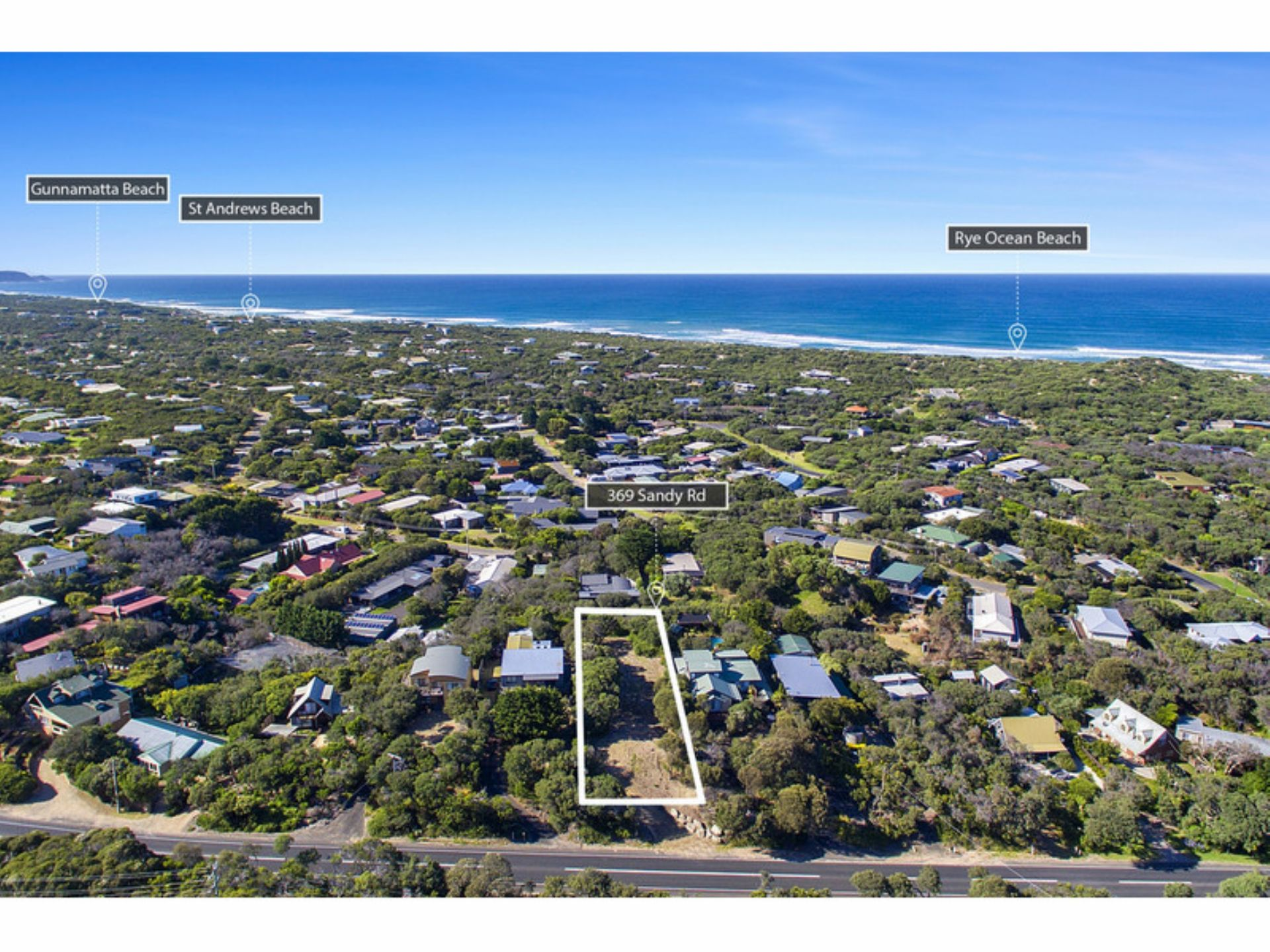 369 Sandy Road, ST ANDREWS BEACH, VIC, 3941 - Image